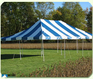 20u2032 x 20u2032 Canopy Tent (30u2032 x 30u2032 space requirement) : striped canopy tent - memphite.com