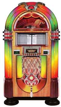 Jukebox rental Chicago Illinois.  Juke Box rentals for anniversary events and 1950's nostalgic