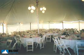 White globe light chandeliers are a great addition to perimeter lighting in canopy and party tents. & Wedding Lighting | Big Tent Events